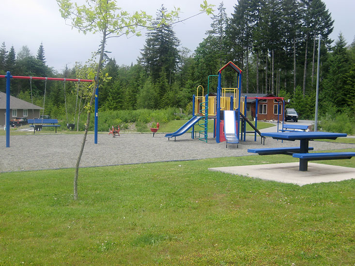 Lake Cowichan Playground for children